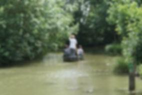 balade guidée en barque