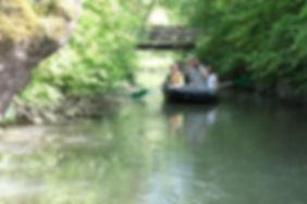 Balade en barque sans guide