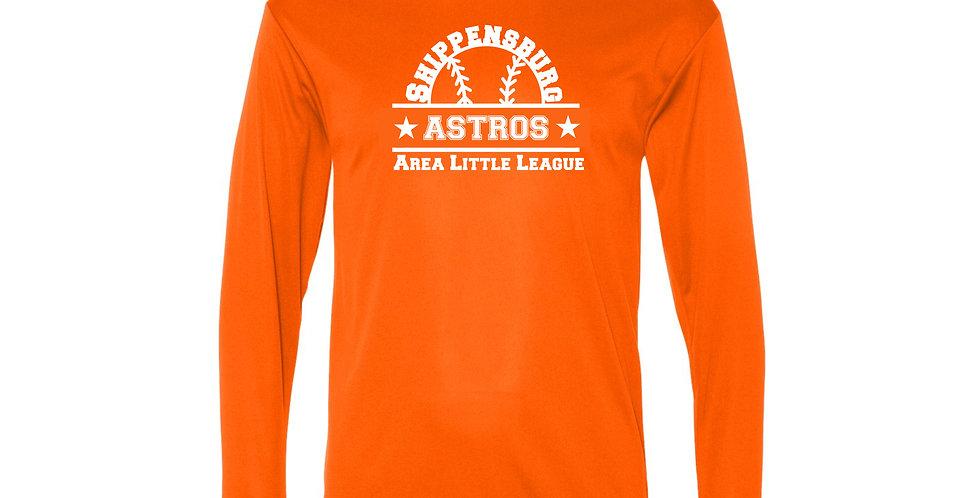 Astros Performance Long Sleeve T-Shirt