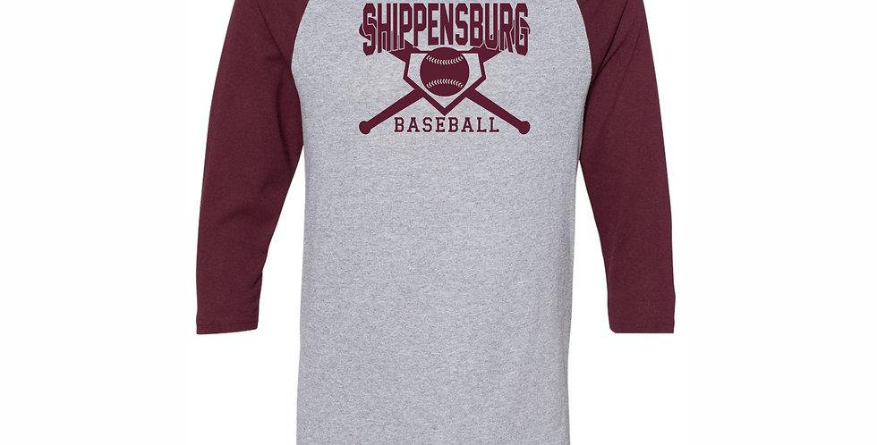 Ship Suburban Baseball T