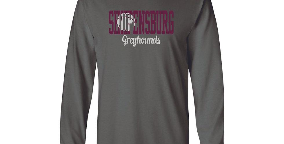 Ship Basketball Long Sleeve T-Shirt