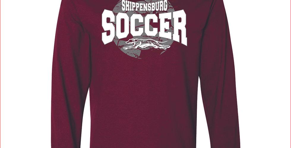 Ship Soccer Long Sleeve T-Shirt