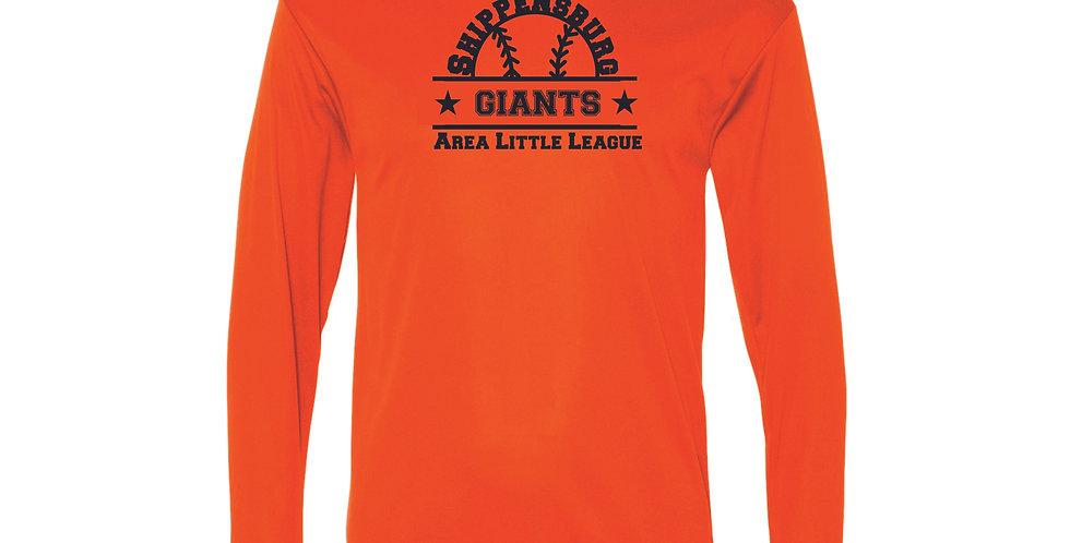 Giants Performance Long Sleeve T-Shirt