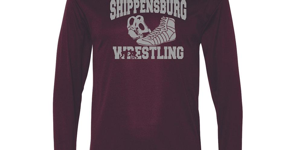 Ship Wrestling Performance Long Sleeve T-Shirt