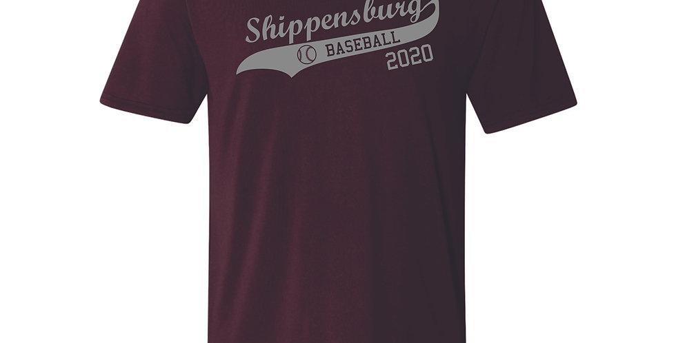 Ship Baseball Performance T-Shirt
