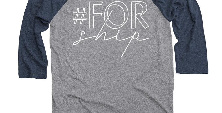 #forship Baseball T