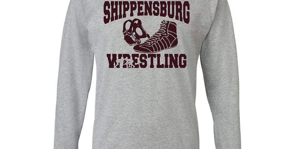Ship Wrestling Long Sleeve T-Shirt