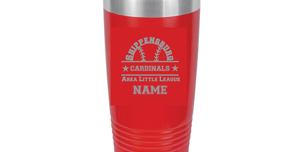 Cardinals 20 oz. Tumbler