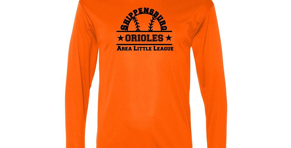 Orioles Performance Long Sleeve T-Shirt