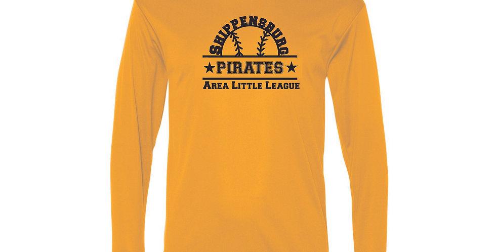 Pirates Performance Long Sleeve T-Shirt