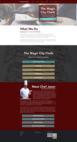 Food/Restaurant Website