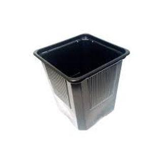 Macetero negro 10x10x10