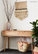 Seagrass bag, side table, wall piece and styling (as featured in Houzz)