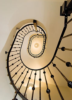 PFG Design Architects Rickmansworth, grand staircase
