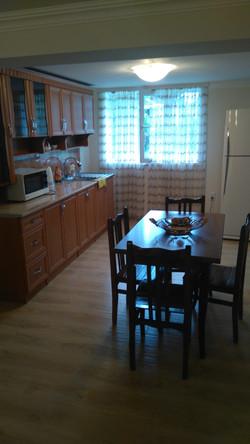 Кухня первого этажа