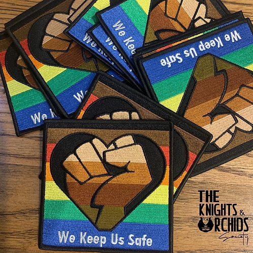 We Keep Us Safe Patches