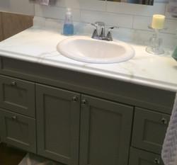 Kitchen/Bathroom counter update