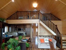 Pine House Interior