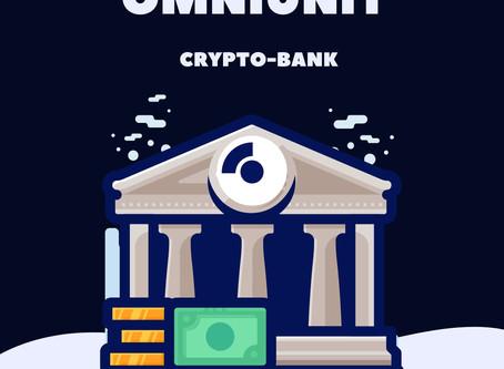 Запуск Omniunit-Swiss CB. Криптобанк в Швейцарии. Лучший банковский вклад. Crypto news.