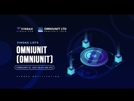 VinDAX Lists Omniunit!