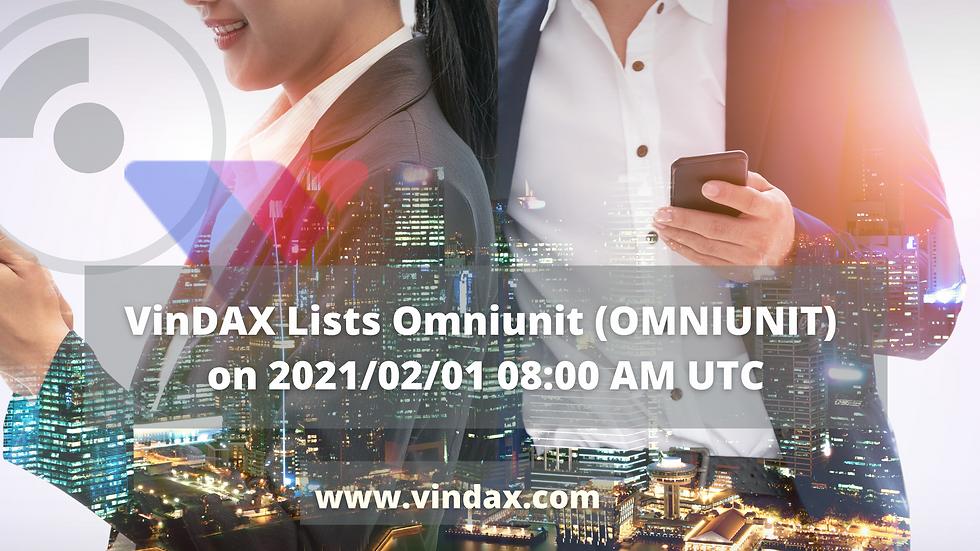 VinDAX Lists Omniunit (OMNIUNIT) on 2021