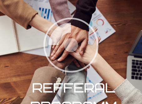 Get free 10$. Launch of refferal programm.