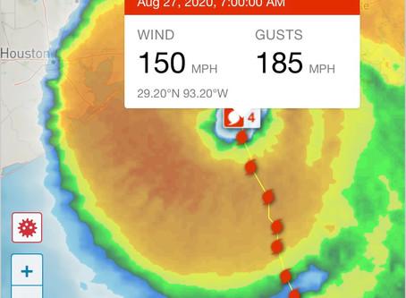 Ураган «Лаура» в США
