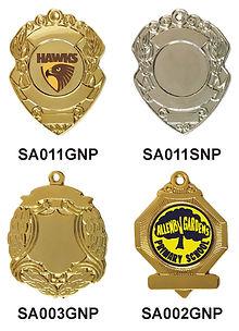 Badges with loop
