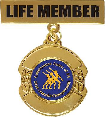 Most popular life member badge
