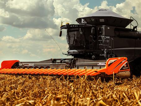 Conceitos sobre plataformas de colheita de milho.
