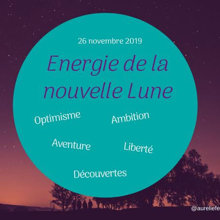 Nouvelle lune de novembre 2019