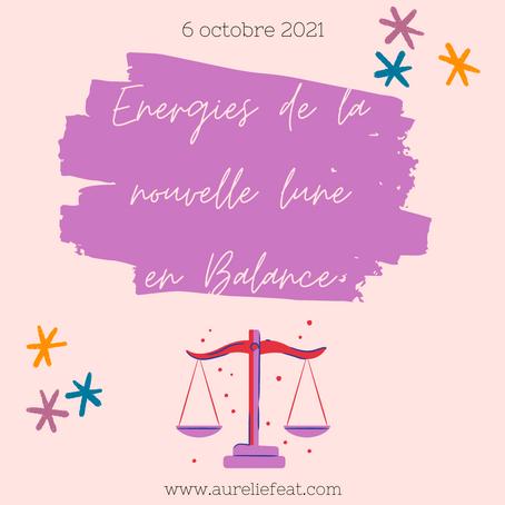 | Energies de la nouvelle lune |  6 octobre 2021