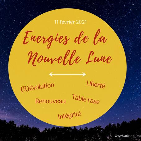 Nouvelle lune en Verseau - 11 février 2021