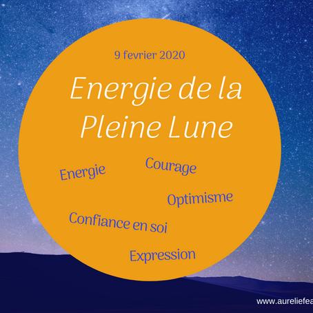 Energies de la Pleine lune en Lion du 9 février 2020