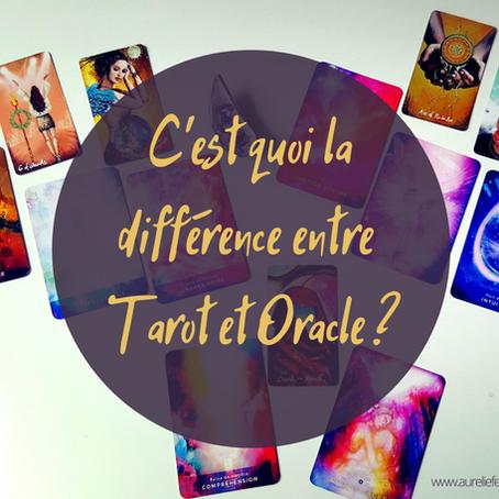 Tarot / Oracle : quelles différences ?