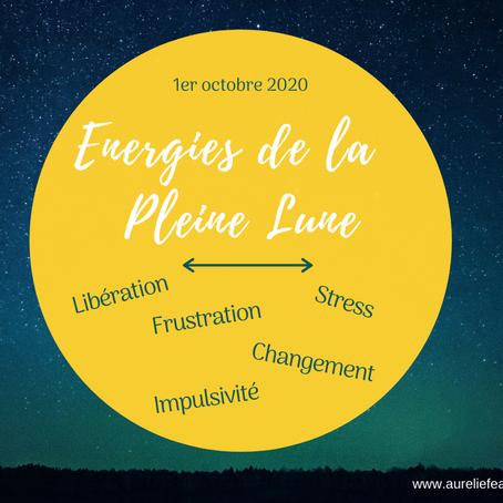 Energie de la pleine lune du 1er octobre 2020