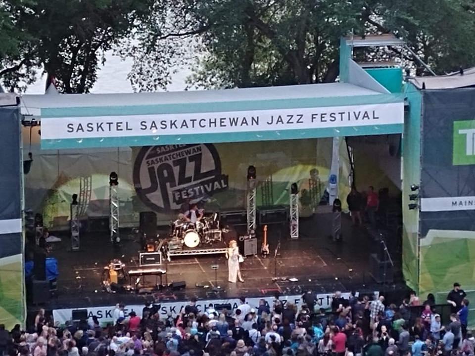 SasTel Jazz Festival MC Mane