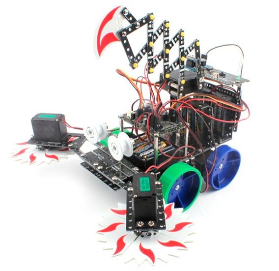 Upgrade a RoboMaster 6 nivel intermedio.