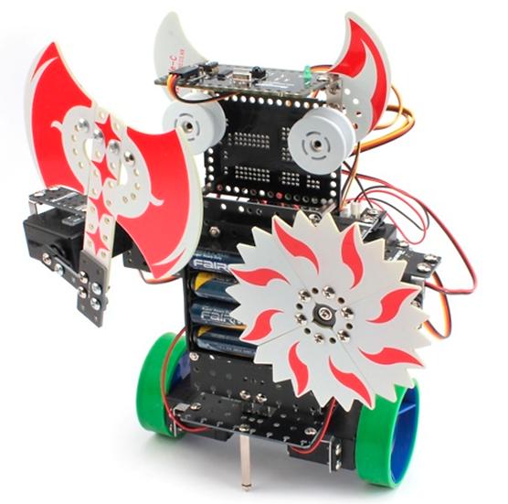 Upgrade a RoboMaster 4 nivel intermedio.