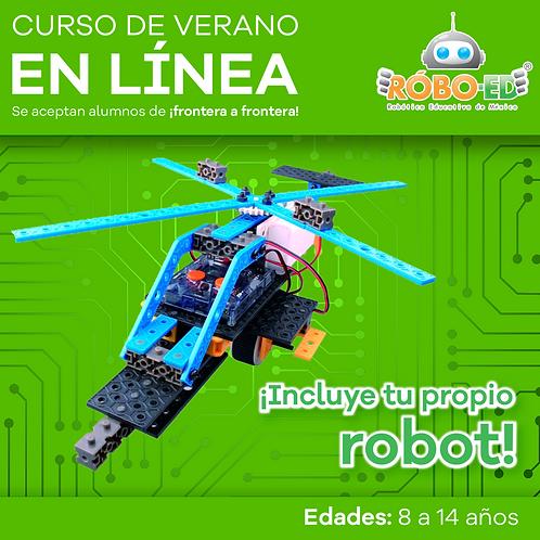 Curso en Linea Robótica RoboEd Junior nivel 1