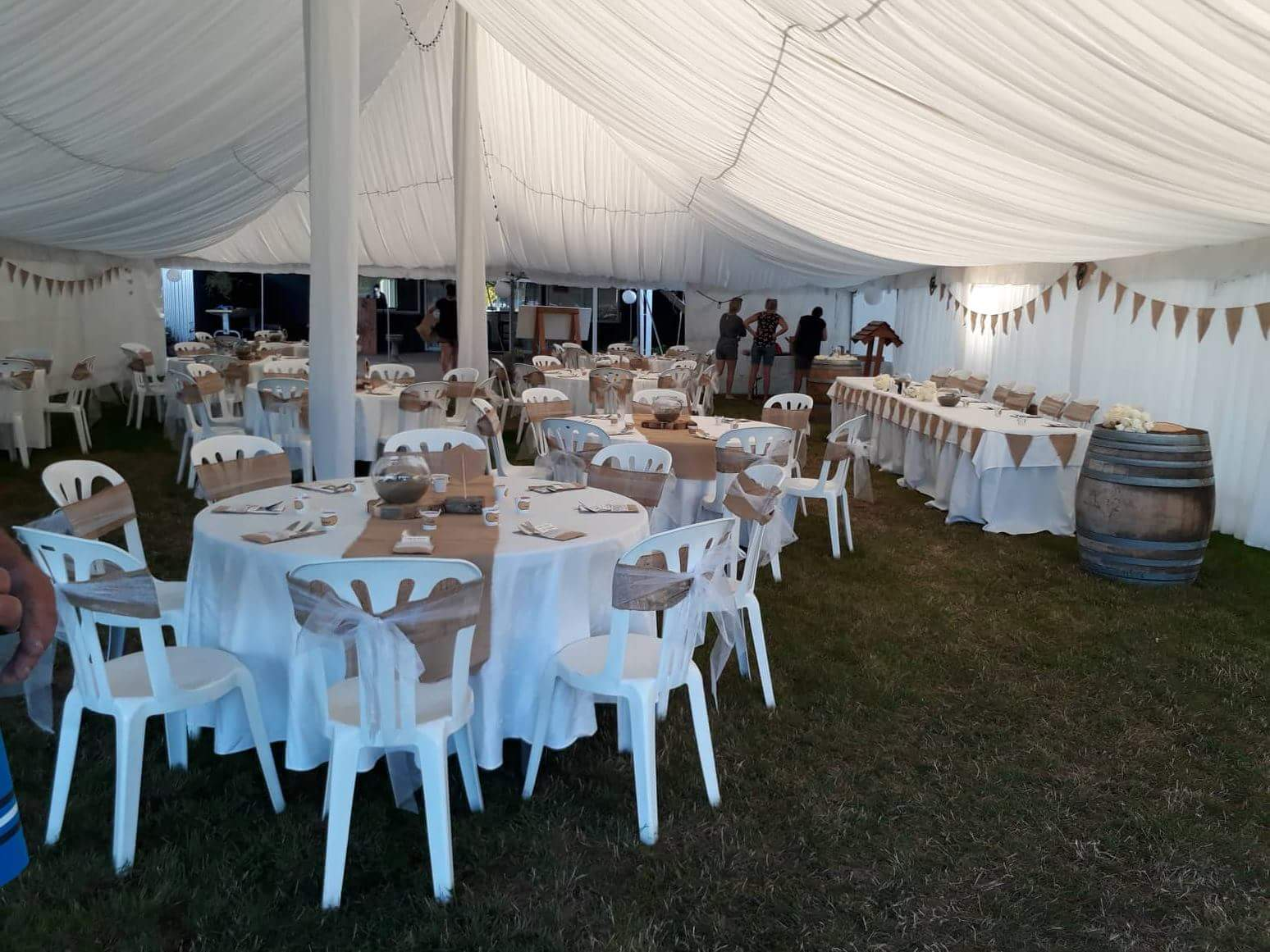 Silk Lined Marquee
