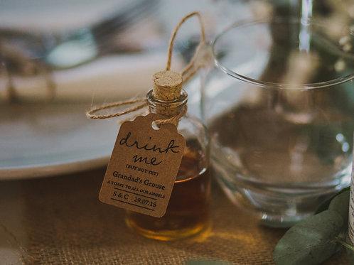 Demijohn Bottle & Cork