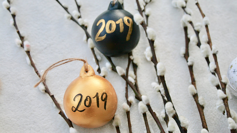 2019 Year Baubles