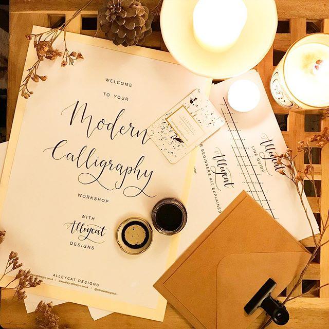 AlleycatDesignsUK Calligraphy Class