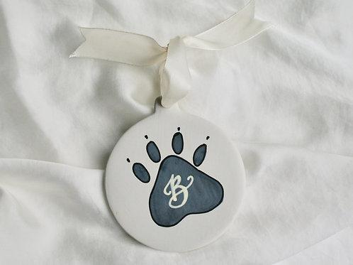 Paw Print Pet Christmas Bauble