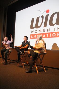 Women In Animation Panel Members
