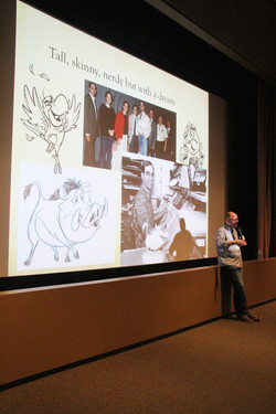Guest Speaker Tony Bancroft