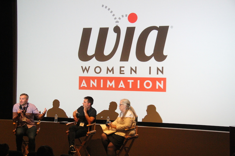 Women In Animation Panel Members