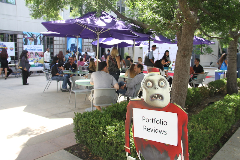 Sony Pictures Animation Courtyard