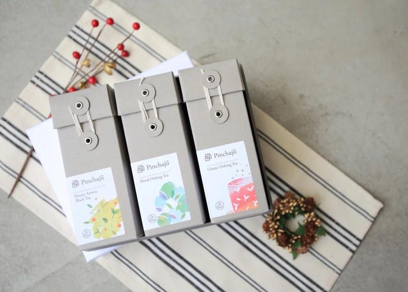 台湾茶セット(烏龍茶、紅茶)